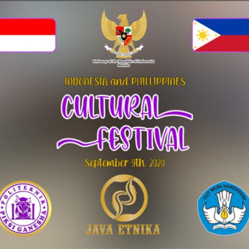 Indonesia and Phillipphines Cultural Festival September 9th, 2020 at Piksi Ganesha Polytechnic